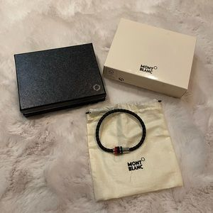 Mont Blanc Leather Bracelet - NWT